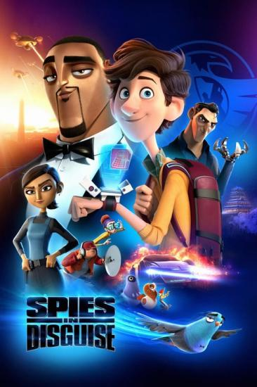 Spies in Disguise 2019 Repack BluRay 1080p 3Audio DTS-HD MA7 1 x265 10bit-BeiTai