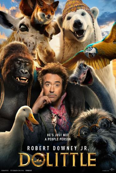 Dolittle 2020 2160p BluRay x265 10bit SDR DTS-HD MA TrueHD 7 1 Atmos-SWTYBLZ