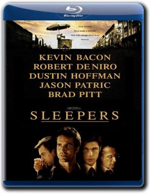 Спящие / Sleepers (1996) WEB-DLRip 720p | Open Matte