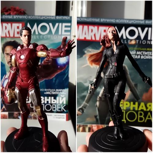 Marvel Movie Collection Посылка №1 - Железный Человек и Черная Вдова