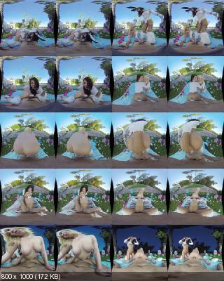 WankzVR: Bailey Brooke, Gina Valentina (Easter Bunnies (Remastered) / 03.04.2020) [Oculus Rift, Vive, GO, Samsung Gear VR | SideBySide] [1920p]