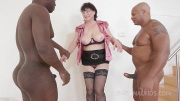 Anal sex with mature MILF Danja Vieille KS028 (2020) HD 720p