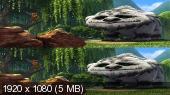 Феи: Легенда о чудовище 3D / Tinker Bell and the Legend of the NeverBeast 3D (by Amstaff)  Вертикальная анаморфная стереопара
