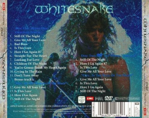 Whitesnake - 20th Аnnivеrsаrу Еditiоn (1987) [2007]