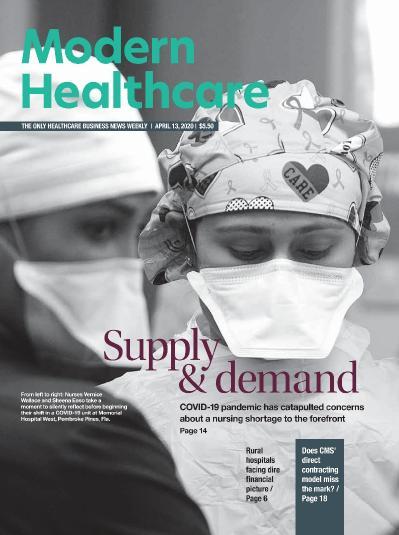 Modern Healthcare  April 13 (2020)
