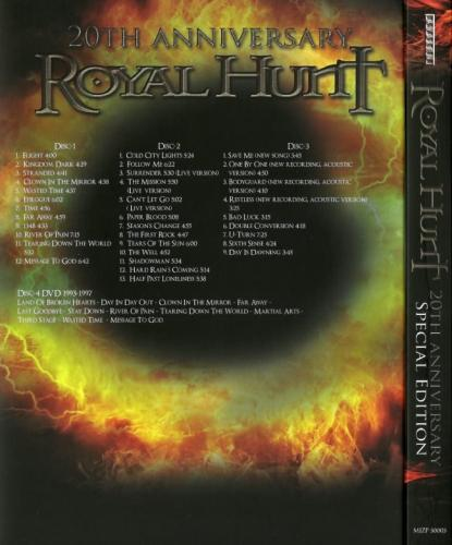 Royal Hunt - 20th Аnnivеrsаrу: Тhе Веst Оf Rоуаl Wоrks (3СD) [Jараnеsе Еditiоn] (2012)