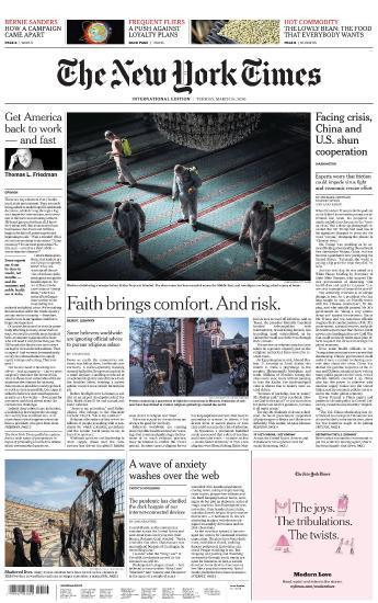 International New York Times - 24 March 2020 UserUpload Net