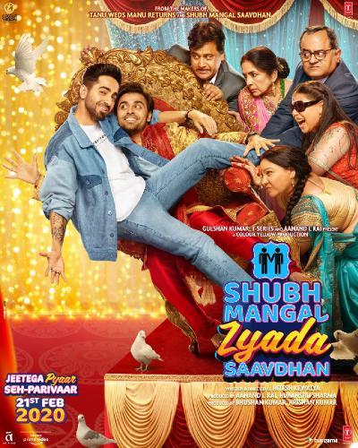 Shubh Mangal Zyada Saavdhan (2020) Hindi Original 720p AMZN WEBRip ⭐800 MB⭐ HEVC