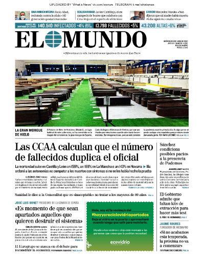 El Mundo - 08 04 (2020)