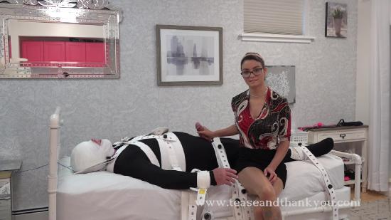 [TeaseAndThankYou.com / Clips4sale.com] Kat Turner - What Do I Do With A Boy For 6 Hours [2020 г., Brunette,Femdom,Glasses,Milking,Handjob,Tease & Denial,Leather,Busty,Orgasm Control, 1080p, HDRip]