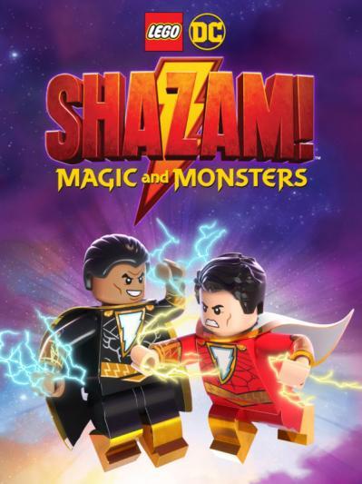 Lego DC Shazam Magic  Monsters 2020 720p WEBRip 800MB x264-GalaxyRG