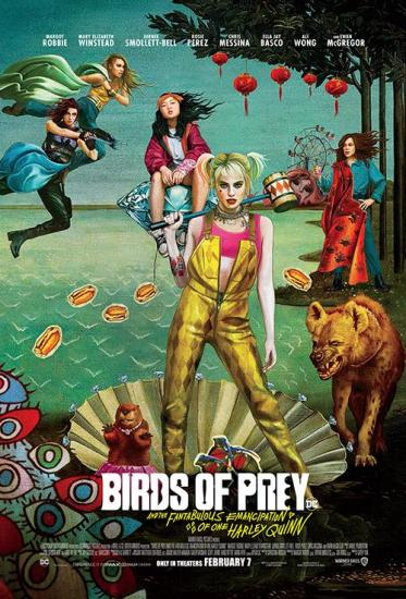 Birds of Prey  the Fantabulous Emancipation of One Harley Quinn 2020 BRRip Xv