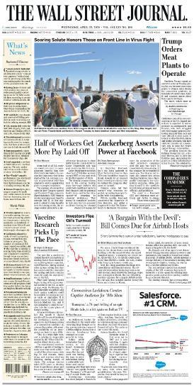 The Wall Street Journal - 29 04 (2020)