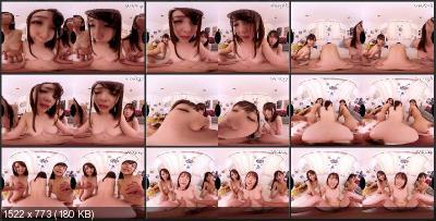 Three Japan Girls - NJVR-019 E [Oculus Rift, Vive, Samsung Gear VR   SideBySide] [1920p]