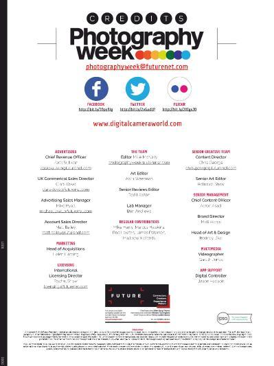 Photography Week - 30 April (2020)