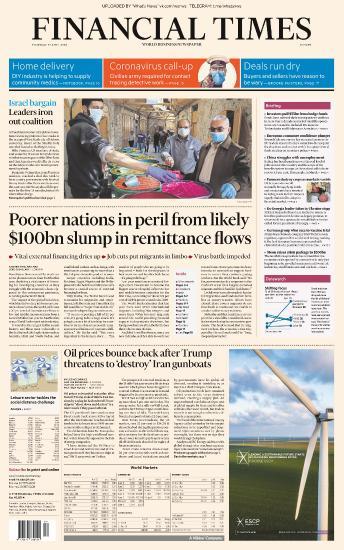Financial Times Europe - 23 04 (2020)