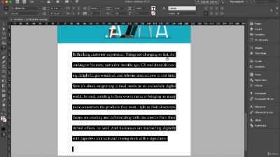Udemy Adobe InDesign Advanced Keyboard Shortcuts -