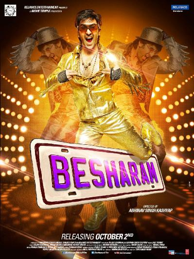 Besharam 2013 Hindi 720p BluRay 10bit HEVC x265 AAC 5 1 MSubs