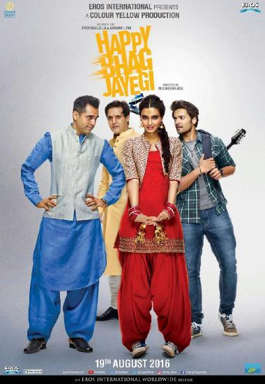 Happy Bhaag Jayegi (2016) 1080p WEB-DL AVC AAC-BWT Exclusive