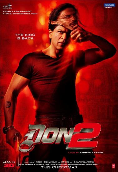 Don 2 - The King is Back 2011 Hindi 720p BluRay x264 AAC 5 1