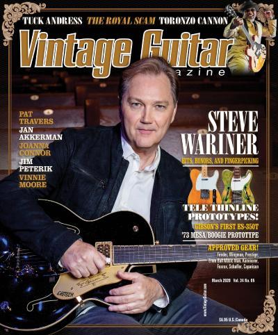 Vintage Guitar - March (2020)