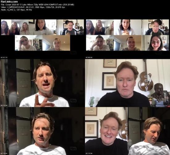 Conan 2020 05 13 Luke Wilson 720p WEB h264 KOMPOST