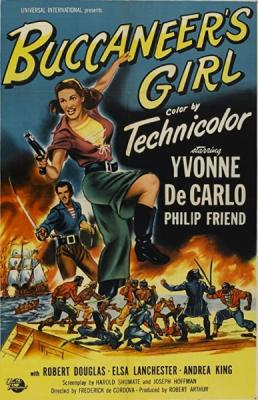 Дочь пирата / Buccaneer's Girl (1950) BDRip 720p
